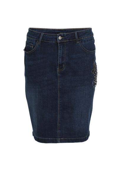 Jupe crayon en jeans - Denim