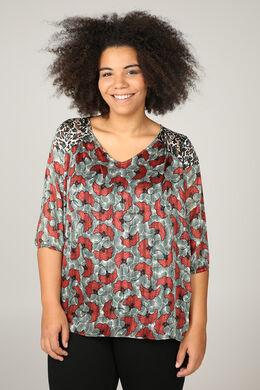 Chemisiers et blouses grandes tailles pour femmes - Paprika 194066e6a713