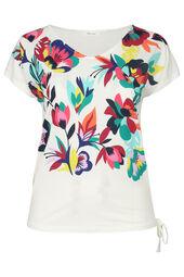 T-shirt imprimé fleuri