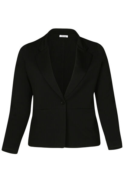 Veste blazer unie - Noir