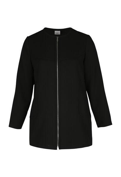 Longue veste - Noir