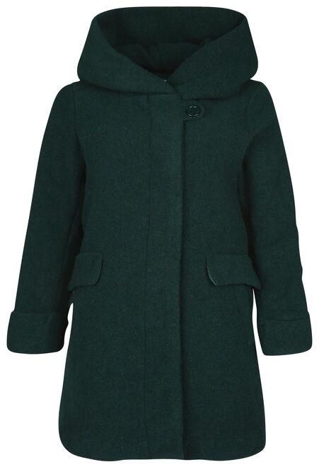 grande vente 1c894 518f6 Manteau en laine avec capuche