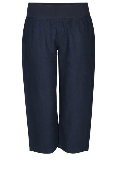 Pantalon en lin - Marine