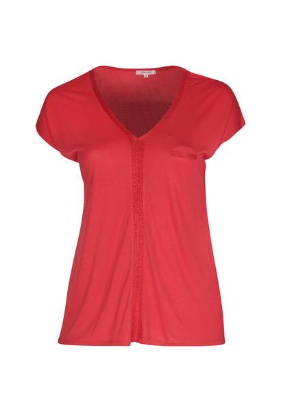 T-shirt en viscose - Orange