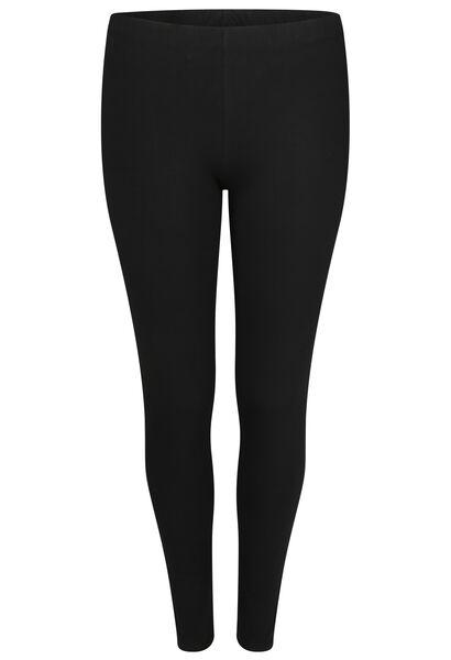 Legging long en coton bio - Noir