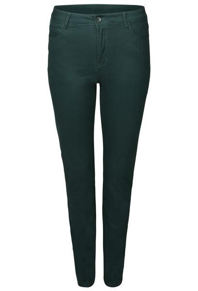 Pantalon slim en coton - Vert