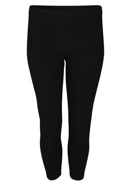 Legging en coton bio, Noir