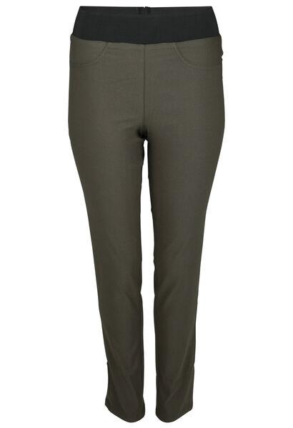 Pantalon de ville stretch - Kaki