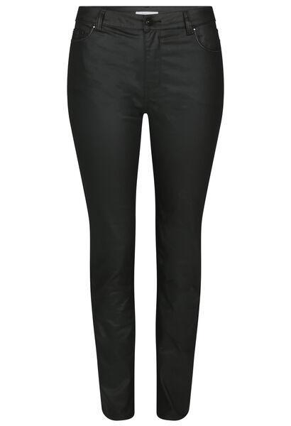 Pantalon enduit coupe slim - Noir