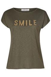 T-shirt imprimé Smile