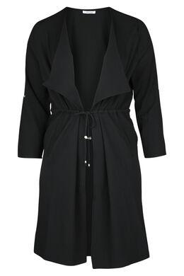 Manteau à pans, Noir