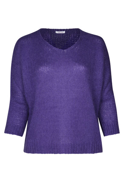 Pull manches oversize - Violet