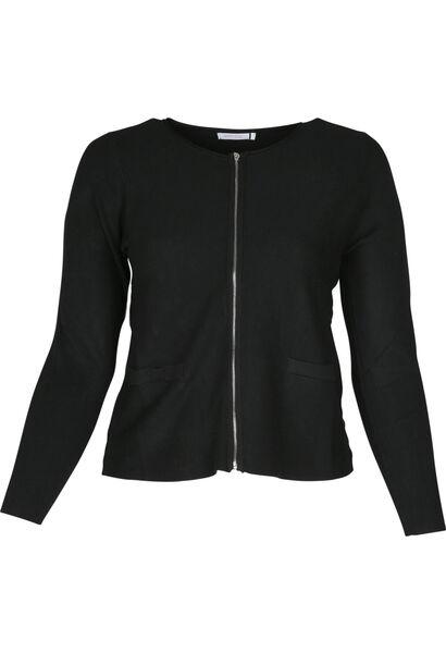 Cardigan tricoté - Noir