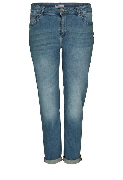 Jeans brodé d'étoiles - Denim
