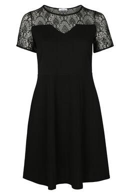 Robe noire dentelle, Noir