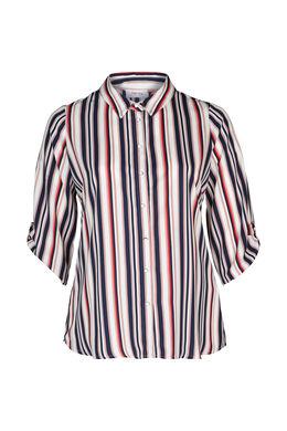 Chemise à rayures, Marine