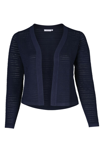 Cardigan court ouvert - Marine